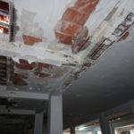 Patología en semisótano de edificio