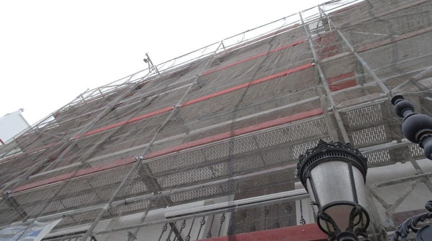 Mantenimiento de fachada y ZZ.CC. edificio