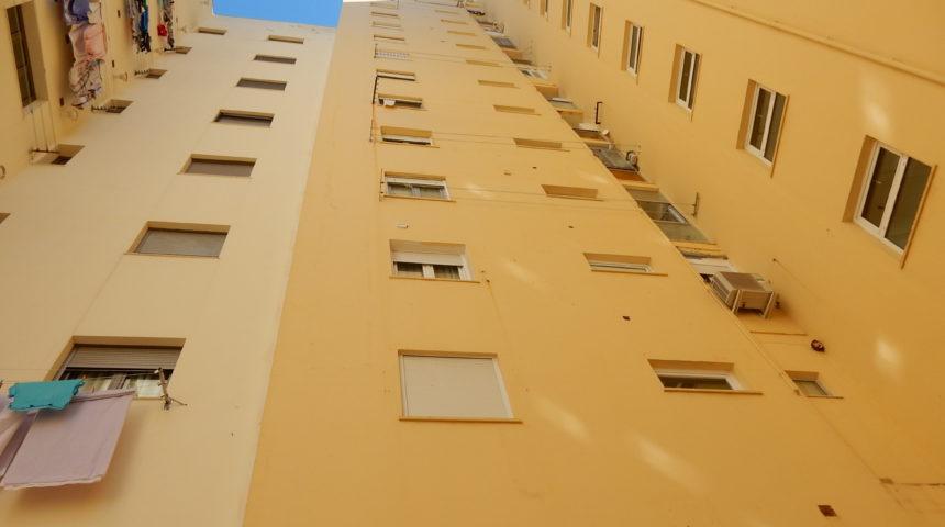 Reparación incidencias ITE en edificio