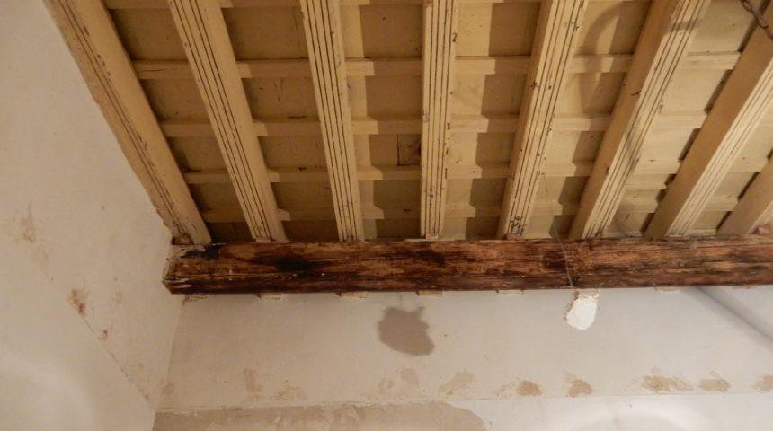 Estudio de unos forjados de madera